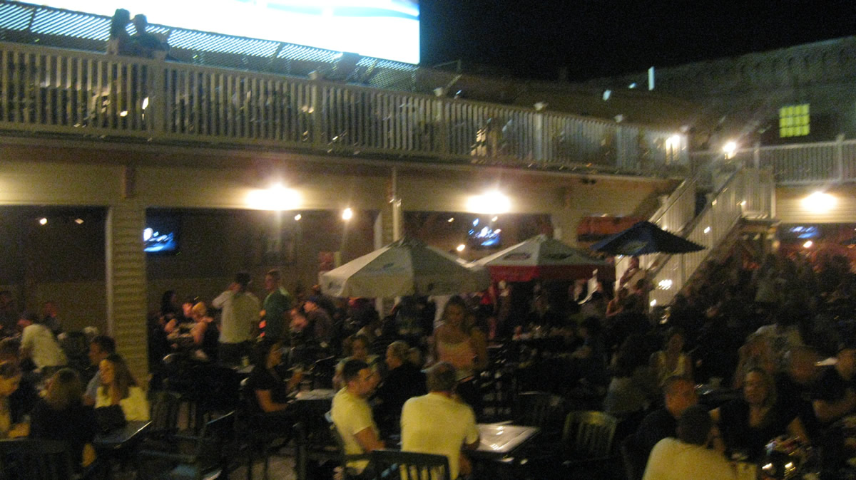 Murphy's Taproom Patio and upper Deck Area